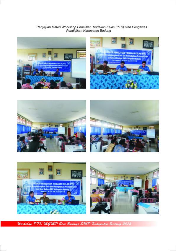 Workshop PTK MGMP Seni Budaya SMP Badung 2012